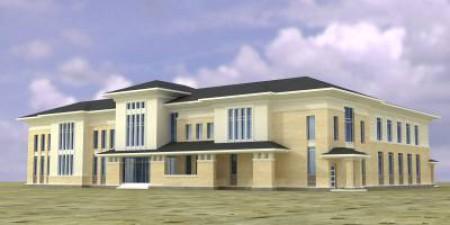 Строительство центра культурного развития в пос. Персиановский